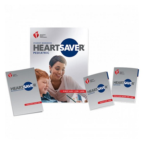 AHA 2020 Heartsaver Pediatric First Aid CPR AED Student Workbook at heartsmart.com