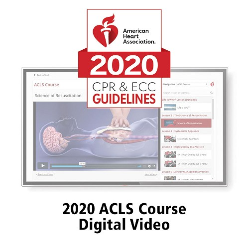 AHA 2020 ACLS Streaming Videos at heartsmart.com