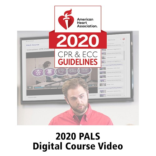 AHA 2020 PALS® Instructor Videos in Streaming Format Online Key Code at heartsmart.com