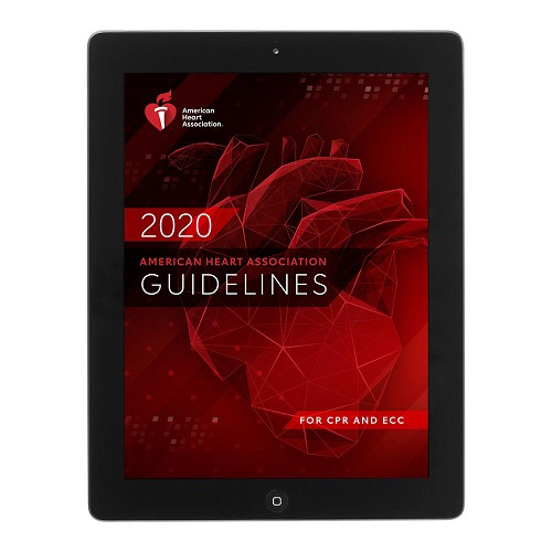 AHA 2020 Guidelines Update for CPR & ECC eBook at heartsmart.com
