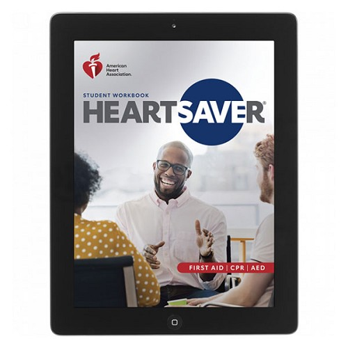 AHA 2020 Heartsaver® First Aid CPR AED Student Workbook eBook at heartsmart.com