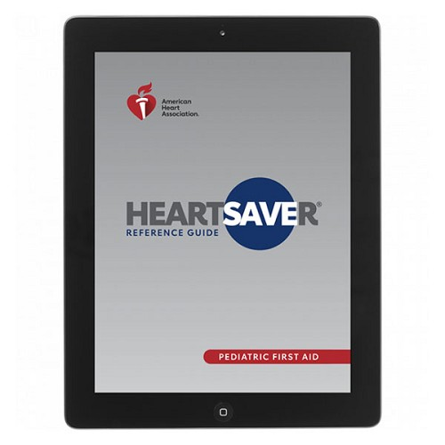 AHA 2020 Heartsaver Pediatric First Aid CPR AED Digital Reference Guide at heartsmart.com