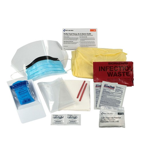 16-Piece Bodily Fluid Clean-Up Pack at heartsmart.com