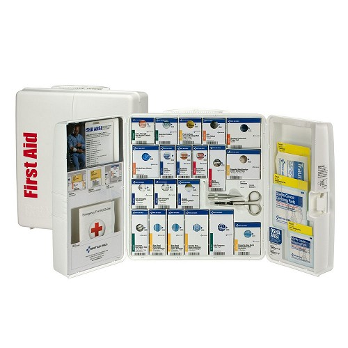 Smart Compliance Food Service Kit w/Medications in Large Plastic Cabinet by First Aid Only at heartsmart.com