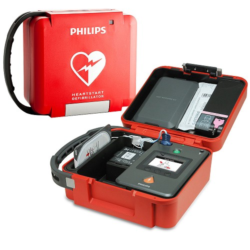 Philips HeartStart FR3 AED Rigid System Carry Case at heartsmart.com