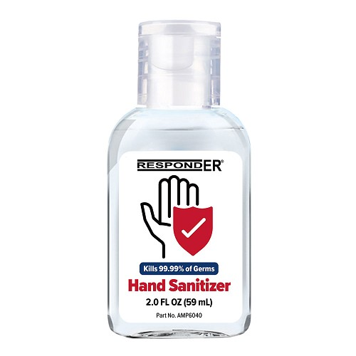 RespondER Antiseptic Hand Sanitizer 2.0 oz - 70% Ethyl Alcohol - 12 or 48/Box at heartsmart.com