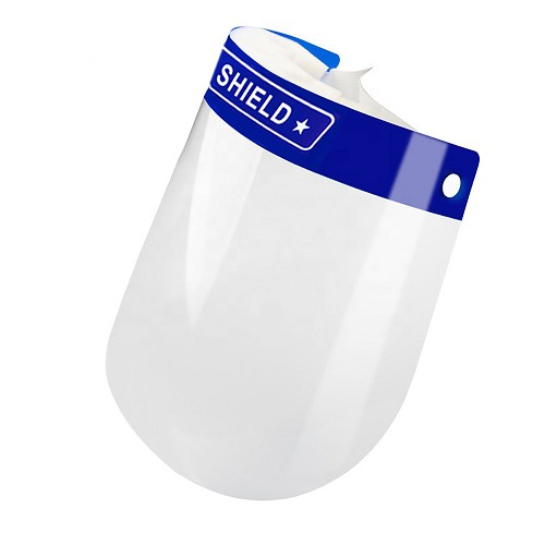 Disposable Face Shield (Single or 10-Pack) at heartsmart.com