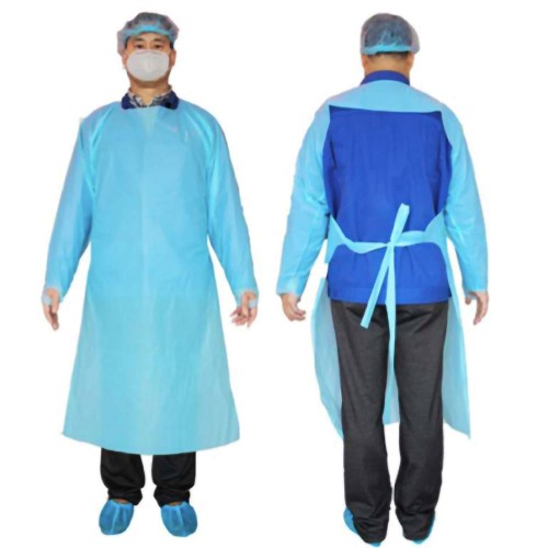 Level 2 Long Sleeve Isolation Gown - 10/Pack at heartsmart.com