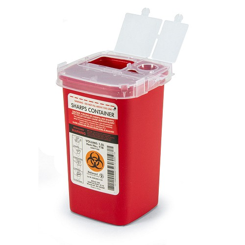 Sharps Container - 1.0L at heartsmart.com
