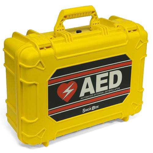 Shok Box® Hard Water-Resistant Carrying Case for the ZOLL AED Plus at heartsmart.com