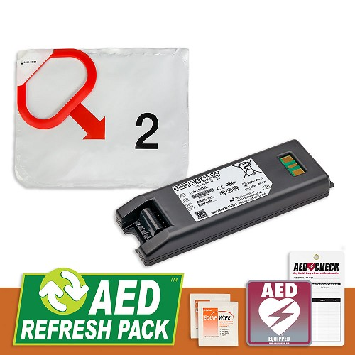 Physio-Control CR2 AED Refresh Pack at heartsmart.com
