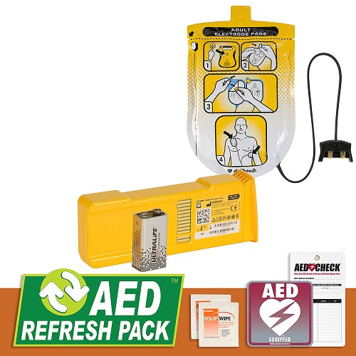 Defibtech Lifeline or Lifeline AUTO AED Refresh Pack at heartsmart.com