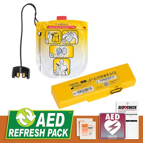 Defibtech Lifeline VIEW/ECG/PRO AED Refresh Pack at heartsmart.com