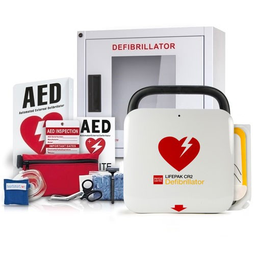Physio-Control LIFEPAK CR2 Value Package at heartsmart.com