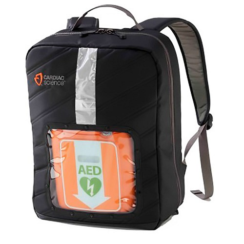Cardiac Science Backpack for Powerheart G3 & G5 AEDs at heartsmart.com