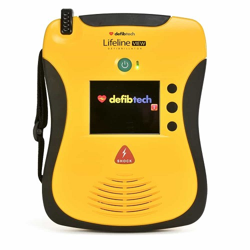 Defibtech Lifeline View AED Package at heartsmart.com