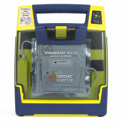 Cardiac Science Powerheart AED G3 Plus at heartsmart.com