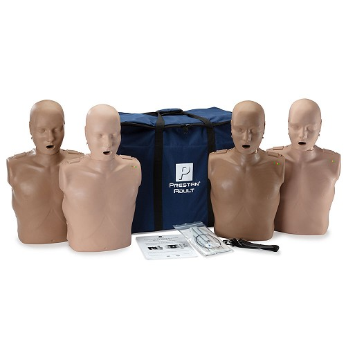 PRESTAN® Adult Diversity Kit Manikins 4-Pack at heartsmart.com